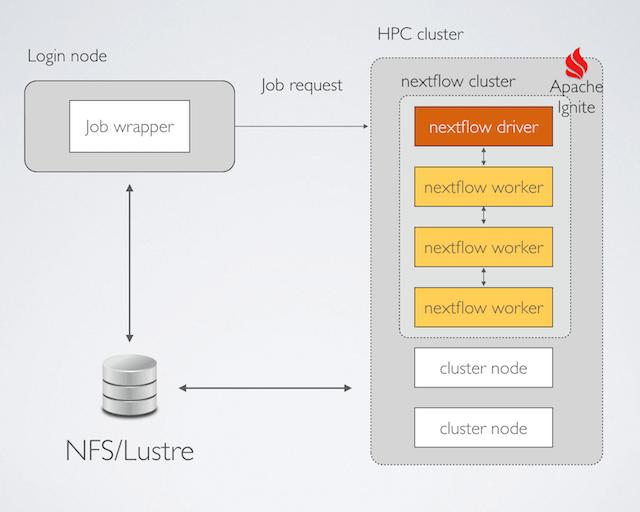 Nextflow distributed execution